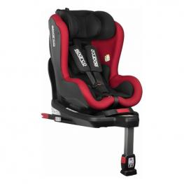 Silla Para el Coche Sparco Sk500 Negro/rojo