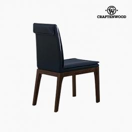 Silla Polipiel Gris - Colección Serious Line By Craftenwood