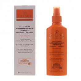 Spray Bronceador Perfect Tanning Collistar Spf 15 (200 Ml)
