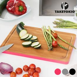 Tabla de Cocina Rectangular de Bambú Taketokio