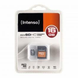 Tarjeta de Memoria Micro Sd Con Adaptador Intenso 3413470 16 Gb Clase 10