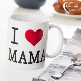 Taza I Love Mama Romantic Items