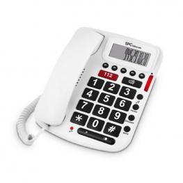 Teléfono Fijo Para Mayores Spc 3293B Blanco