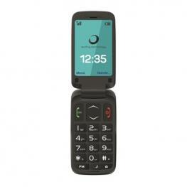 Teléfono Móvil Brigmton Btm-5 2,4 Tft Bluetooth Fm Negro