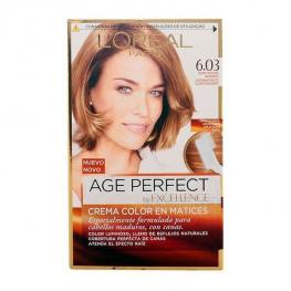 Tinte Permanente Antiedad Excellence Age Perfect L'Oreal Expert Professionnel Rubio Oscuro