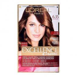 Tinte Permanente Excellence L'Oreal Expert Professionnel Chocolate