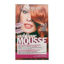 Tinte Permanente Sublime Mousse Casting Cobrizo Ardiente