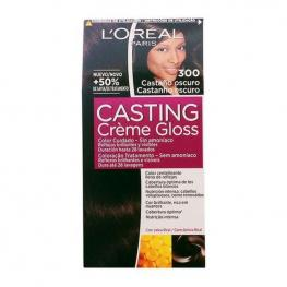 Tinte Sin Amoniaco Casting Creme Gloss L'Oreal Make Up Castaño Oscuro
