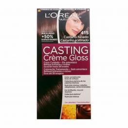 Tinte Sin Amoniaco Casting Creme Gloss L'Oreal Make Up Castaño Helado