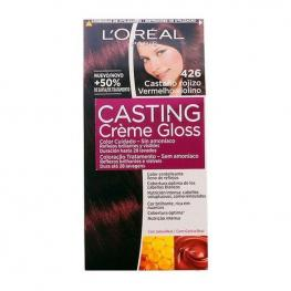 Tinte Sin Amoniaco Casting Creme Gloss L'Oreal Make Up Castaño Cobrizo