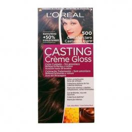 Tinte Sin Amoniaco Casting Creme Gloss L'Oreal Make Up Castaño Claro