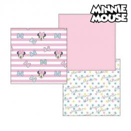 Toallita Muselina Minnie Mouse 75401 Rosa (Pack de 3)