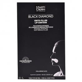 Tratamiento Antiedad Para Contorno de Labios Black Diamond Martiderm (4 Pcs)