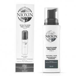 Tratamiento Capilar Protector System 2 Nioxin Spf 15 (100 Ml)