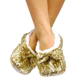 Zapatillas Bailarinas Suaves Con Lentejuelas Fashinalizer