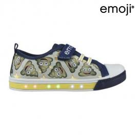 Zapatillas Casual Con Led Emoji 72937 Beige
