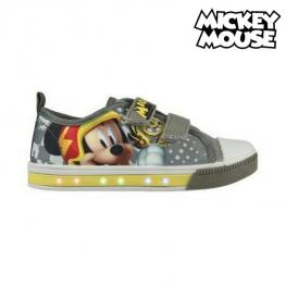 Zapatillas Casual Con Led Mickey Mouse 72918