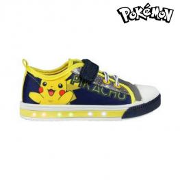 Zapatillas Casual Con Led Pokemon 72930 Azul Marino