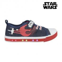 Zapatillas Casual Con Led Star Wars 72931 Azul