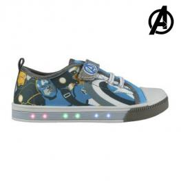 Zapatillas Casual Con Led The Avengers 72933 Azul