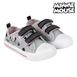 Zapatillas Casual Niño Minnie Mouse Plateado
