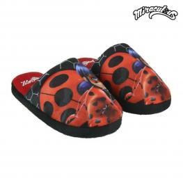Zapatillas de Estar Por Casa Lady Bug 73301 Rojo