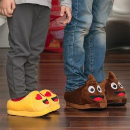 Zapatillas de Estar Por Casa Para Niños Emoticonos Gadget And Gifts
