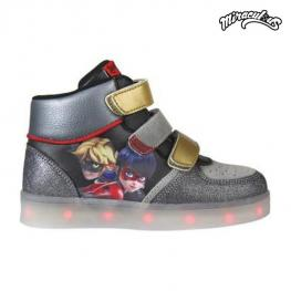 Zapatillas Deportivas Con Led Lady Bug 72595