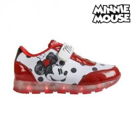 Zapatillas Deportivas Con Led Minnie Mouse 72645