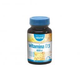 Vitamina D3 4000Iu 60 Cap. Naturmil
