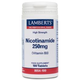 Nicotinamida Vit. B3 100Tb Lamberts