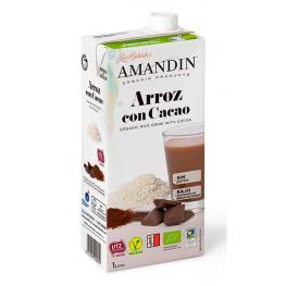 Bebida Arroz Cacao 1-L Amandin