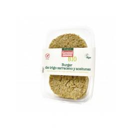Burger de Aceitunas y Trigo Sarraceno Sin Gluten Bio 180Gr