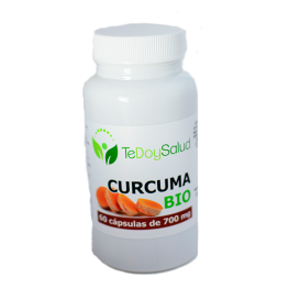 Cápsulas de Cúrcuma Bio 700 Mg 60 Cap.