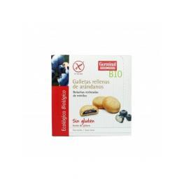 Galletas Rellenas de Crema de Arándanos Bio Sin Gluten 250Gr