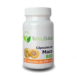 Maca Bio - 60 Capsulas/580Gr. Tedoysalud - Estimulante Fisico y Sexual / Salud Femenina
