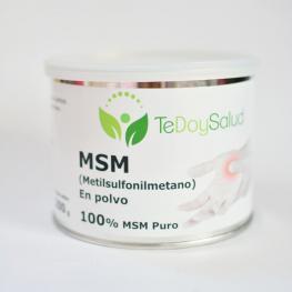 Msm (Metilsulfonilmetano) En Polvo. 200G. Tedoysalud.