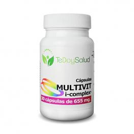 Multivit I-Complex - 30 Cápsulas/655 Mg Tedoysalud - Multivitaminas