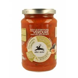 Salsa de Tomate Con Verduras 350 Gr Alce Nero
