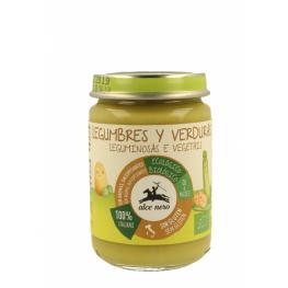 Puré de Legumbres y Verduras Baby 140Gr Alce Nero