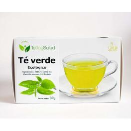 Te Verde Bio Infusión En Filtro 20 Ud. Tedoysalud