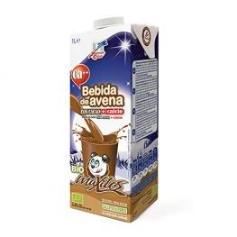 Bebida Maxitos de Avena Sin Gluten Con Cacao y Calcio 1L. Finestra.