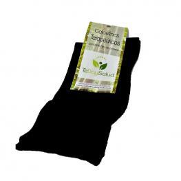 Calcetines Terapéuticos Bambú Negro Talla M Tedoysalud