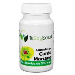 Cápsulas de Cardo Mariano Bio 60 Uds.  500 Mg. Tedoysalud