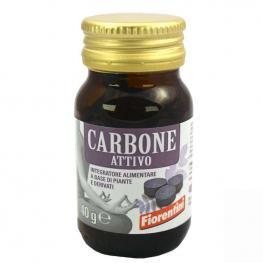 Carbón Vegetal y Lactobacillus 80 Cápsulas Bio Fiorentini