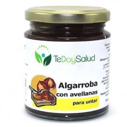 Crema de Algarroba Con Avellanas Bio 375 Gr. Tedoysalud