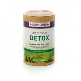 Detox Depuración Natural Bio 12 Cáp. 450 Mg. - Amazon Complex