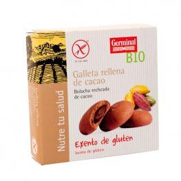 Galletas Sin Gluten Rellenas de Crema de Cacao 200 Gr. Germinal