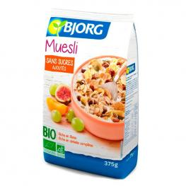 Muesli de Frutas Sin Azúcar Añadida 375 Gr. Bjorg