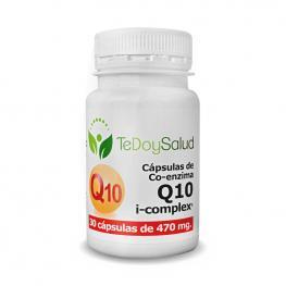 Coenzima Q10 I-Complex - 30 Caps./470 Mg  Tedoysalud - Antienvejecimiento
